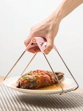 Pinza antideslizante de acero inoxidable para platos, cazuela antideslizante, bandeja, artefacto, utensilios de cocina para el hogar