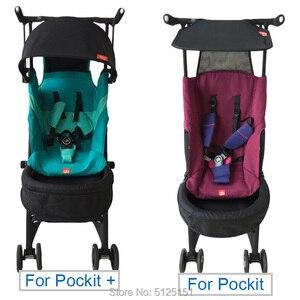 Image 4 - Kinderwagen Accessoires Verlengen Zitkussen Extension Voet Board Voor Gb Goodbaby Pockit