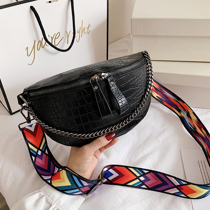 Женская сумка Кроссбоди из искусственной кожи, модная разноцветная Геометрическая Сумка на ремне с широкими лямками и камнями, 2019|Сумки с ручками|   | АлиЭкспресс