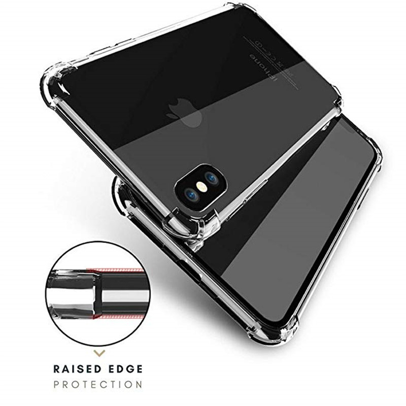 Ultra thin Clear Transparent TPU Silicone Case For OPPO  VIVO Protect Rubber Phone