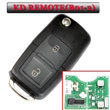 무료 배송 B01 2 버튼 kd 원격 vw 스타일 원격 키 KD900(KD200) 기계 (1piece)