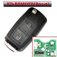 Ücretsiz kargo B01 2 düğme kd uzaktan vw tarzı uzaktan anahtar KD900(KD200) makinesi (1 adet)