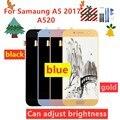 100% протестированный ЖК-для Samsung Galaxy A5 2017 A520 A520F SM-A520F дисплей сенсорный экран дигитайзер Запасные части Бесплатные инструменты