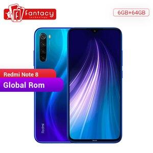 """Image 1 - In Magazzino Globale ROM Xiaomi Redmi Nota 8 6GB 64GB 48MP Quad Fotocamera Dello Smartphone Snapdragon 665 Octa Core 6.3 """"Schermo FHD 4000mAh"""