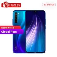 "In Stock Global ROM Xiaomi Redmi Note 8 6GB 64GB 48MP Quad Camera Smartphone Snapdragon 665 Octa Core 6.3"" FHD Screen 4000mAh"