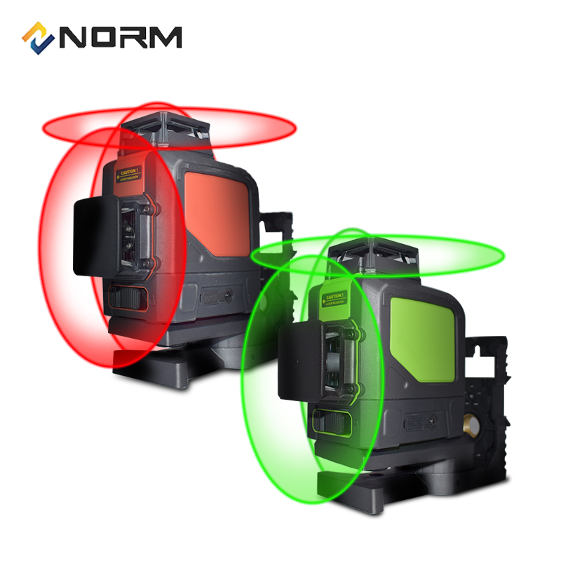 Norm 12 Lines Laser Level 3D Auto Self-Leveling Laser Level With Battery