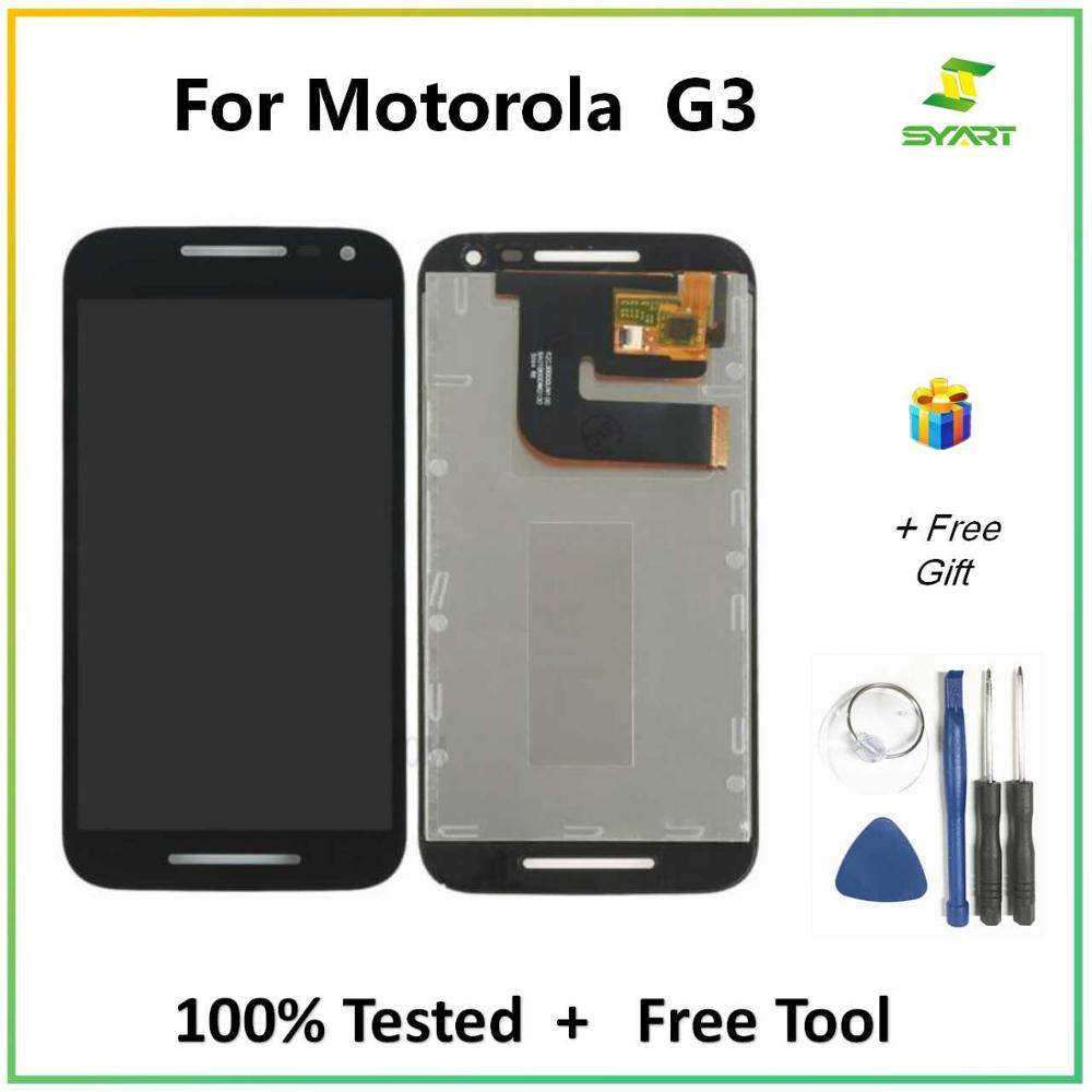 "For Motorola MOTO G3 5.0""inch replacement phone screen lcd G3rd Gen XT1544 XT1550 XT1540 LCD Display touch panel glass"