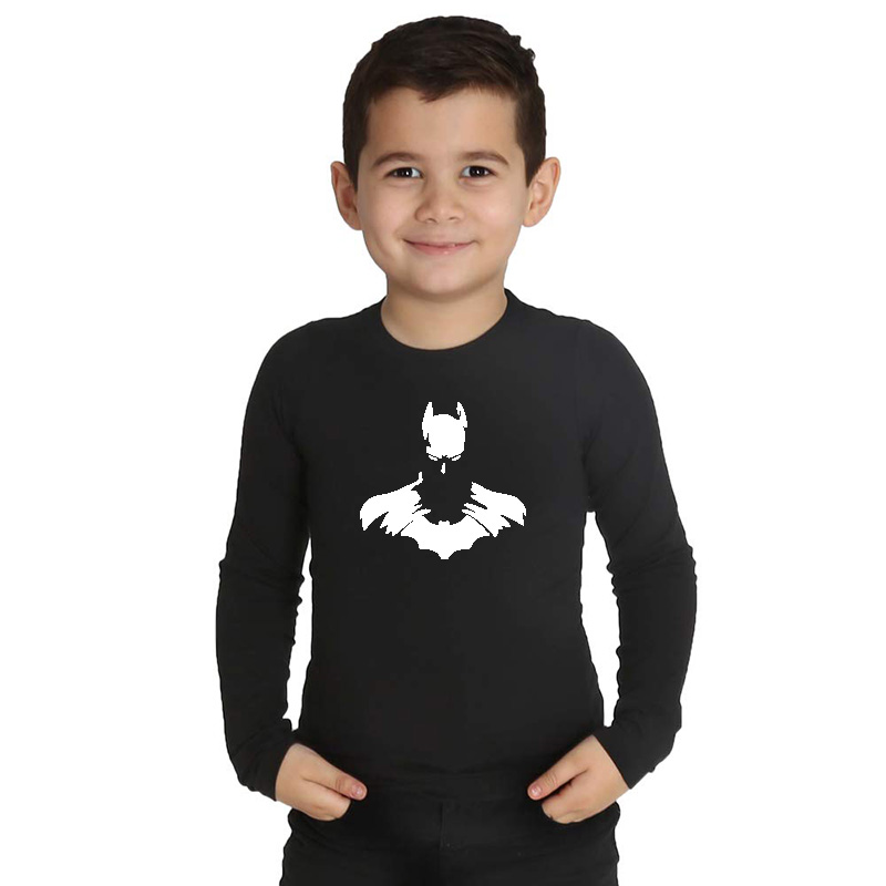 LYTLM Kids T Shirts for Winter Batman <font><b>Birthday</b></font> <font><b>Baby</b></font> <font><b>Tshirt</b></font> Camiseta Manga Larga Boys Clothes Kids Tops Cotton Anime Boys <font><b>Tshirts</b></font> image