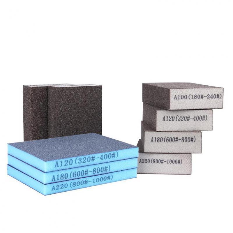 1pcs High Quality Polishing Sanding Sponge Block Pad Sandpaper Assorted Grit Abrasive Tool
