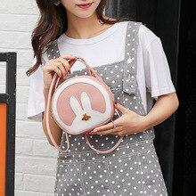 Sequined Bunny Ear Shoulder Diagonal Bag Women Girl Bling Rabbit Mini Handbag Messenger