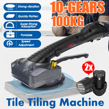 Tiles-Machine Leveling-Tool Suction-Cup Tiling Adjustable 2-Battery Automatic 1000W