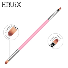 Dual End Nail Brush Art Manicure Brushes Set Line Flower Pen Pointing Painting Acrylic Gel for New
