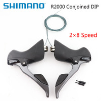 Shimano Claris ST R2000 2x8 speed road bike Shift/Brake Levers Set Right & Left Hand Dual Control Lever bike accessories
