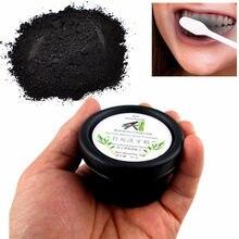 Dentes de carvão vegetal de bambu dentes dentários laboratório higiene oral branqueamento fumaça amarelo cuidados com os dentes em pó blanchir les mossas material