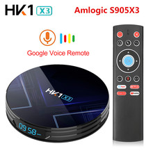 Android 9.0 HK1 X3 1000M Smart TV Box Amlogic S905X3 8K 4GB