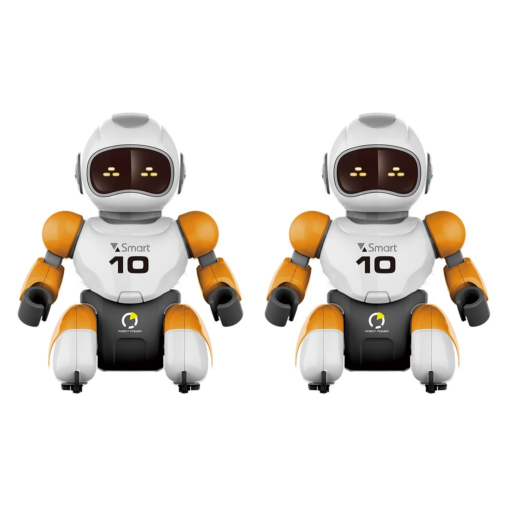 RC robot Kawaii Cartoon Smart Play Soccer Robot Remote Control Toys Electric Singing Dancing Football Robot For Children Kid Toy image