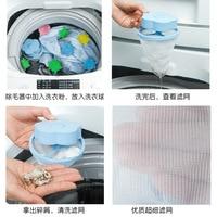 Filtr do maszyny do prania torba do ekranu uniwersalny dekontaminacja depilator do pochłaniania włosów filtr zanieczyszczeń ochrona Laund w Ozonatory do mycia warzyw od AGD na