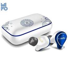 Mifo o5 미니 블루투스 이어폰 진정한 무선 헤드폰 스포츠 방수 핸즈프리 TWS 블루투스 5.0 헤드셋 이어 버드