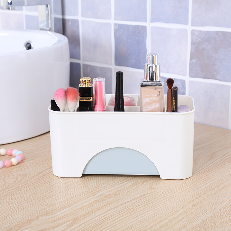 Plain Drawer Cosmetic Storage Box Makeup Brush Organizing Box Desktop Jewelry Skin Care Products Seperated Dressing Box