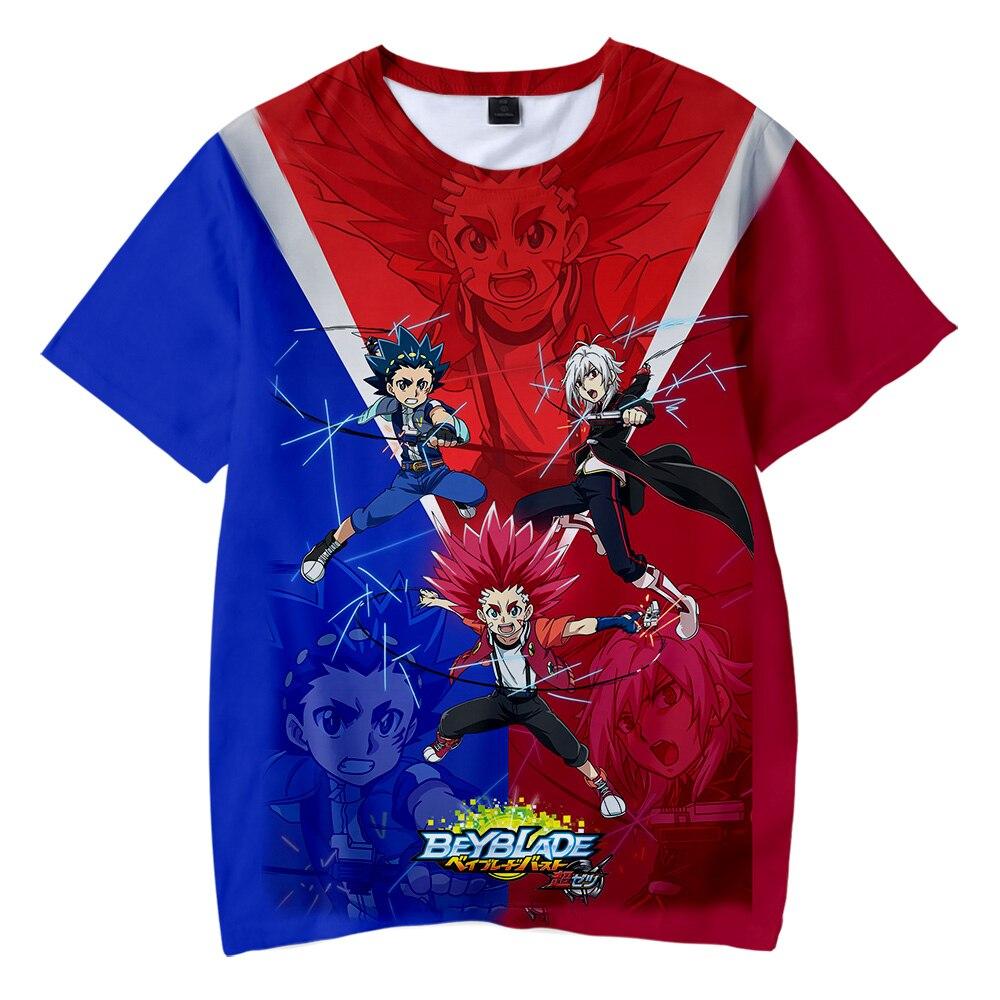 Beyblade Burst Evolution Kids T shirt Boy girl New Fashion popular Cute 3D Print Creative Streetwear Kids Funny T-shirt top