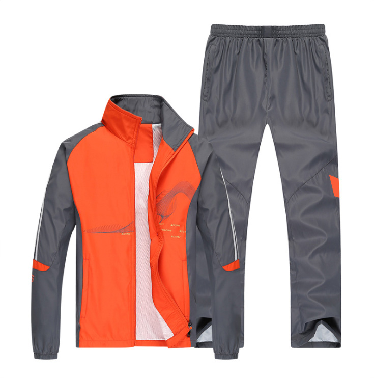 Men's Sports Suit Custom Logo Fashion Spring And Summer Sports Running Loose Fashion SA-8