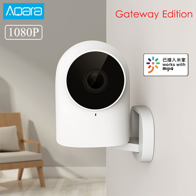 AQara G2 1080P Smart IP Camera Gateway Edition Zigbee Night Vision AI Recognition Home Security Camera Work With Mijia APP