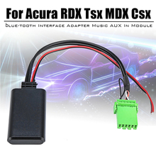 Стерео передача данных аудио автомобиля 6 Pin профессиональный автомобиль AUX в Модульный адаптер стабильный Bluetooth 5,0 музыка для Acura