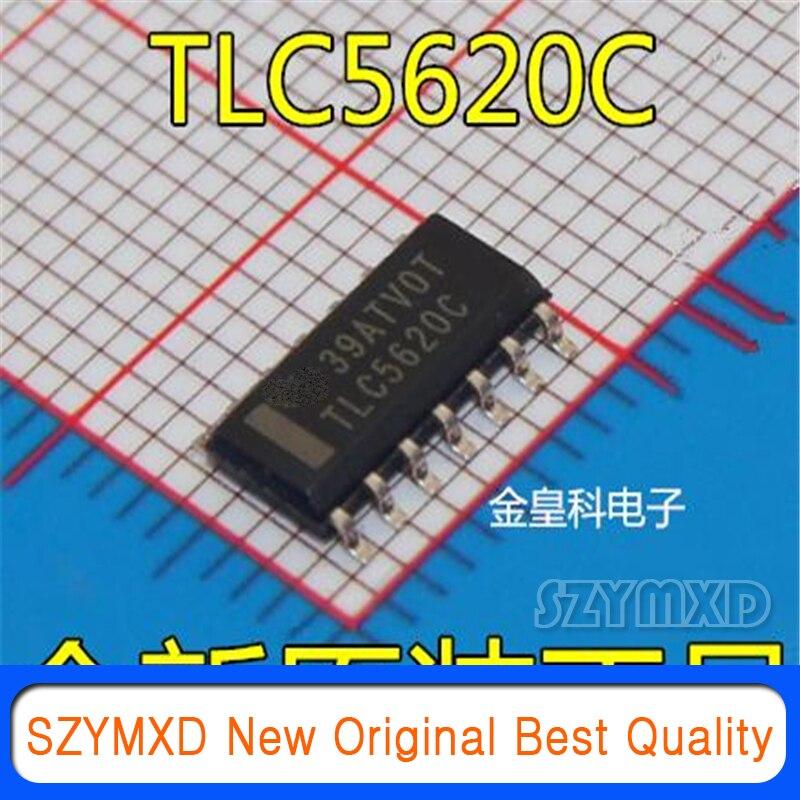 5 шт./лот новый оригинальный TLC5620 TLC5620C TLC5620CDR патч SOP14 цифро-аналоговый конвертер в наличии