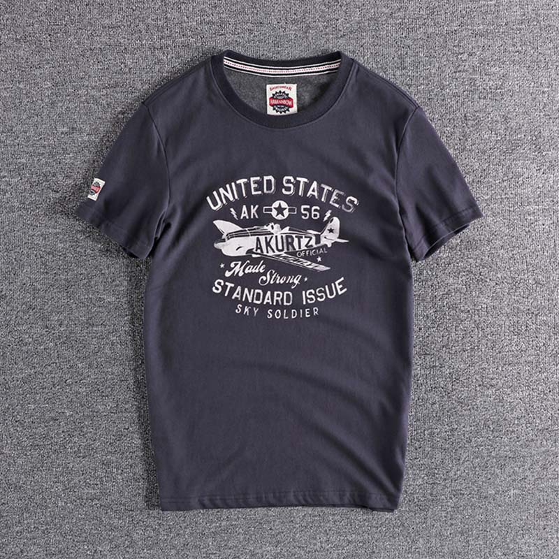 2020 Simple printing trend youth half sleeve European and American casual cotton men's Short Sleeve T-Shirt plus size tops TEE