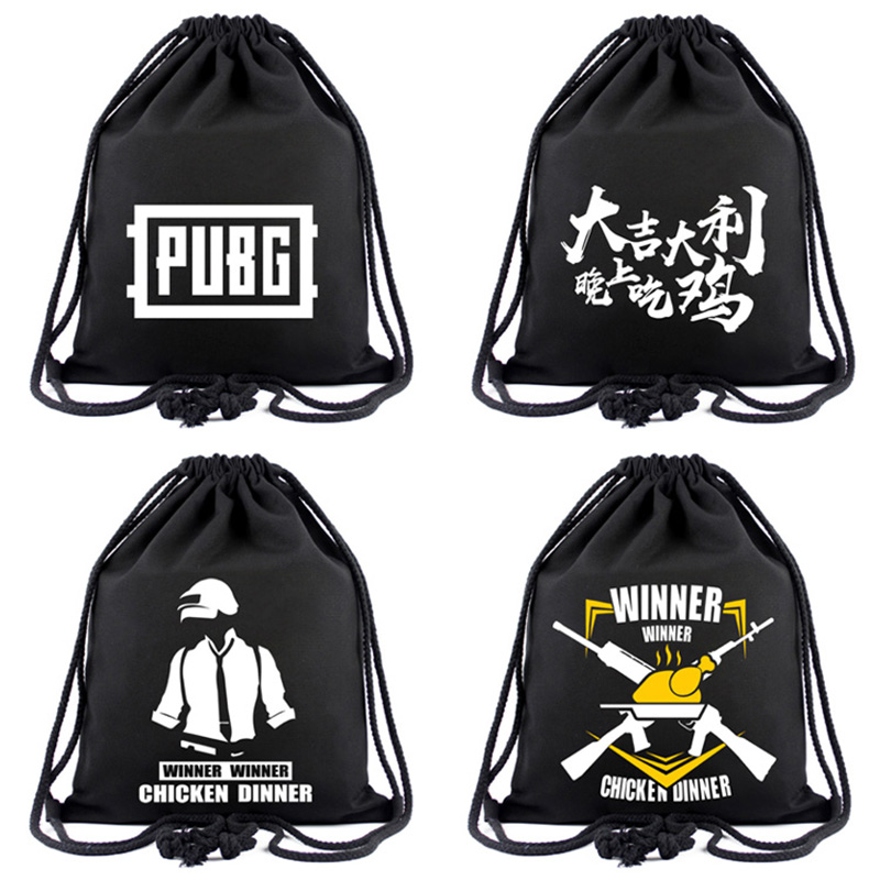 New Games Drawstring Bag Canvas Cloth Backpack For Young Boys Girls Travel Accessories Organizer Backpacks Gift Casual Bags