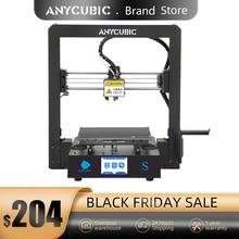 3D принтер Anycubic Mega S, принтер для объемной печати, металлический сенсорный экран