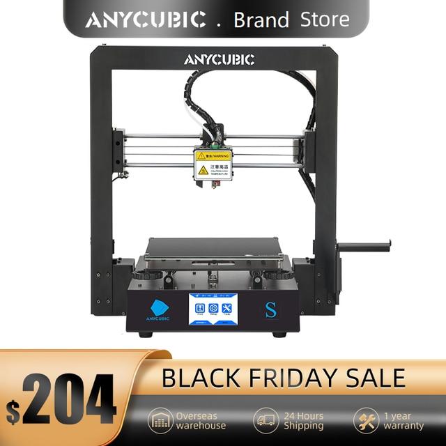 Anycubic 3D Printer Mega S 3d print Kits Plus Size MegaS Full Metal Touch Screen 3d Printer Mega S 3D Drucker Impresora 3d