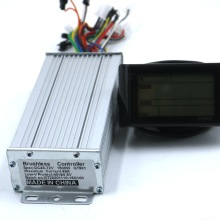 Greentime 72V 1500W 45A Controller motore Brushless DC Controller Ebike GT981 Display un Set