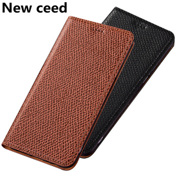 Genuine Leather Magnetic Stand Phone Bag Case For Huawei P40/Huawei P40 Pro/P40 Pro Plus/Huawei P40 Lite Case Card Slot Funda фото