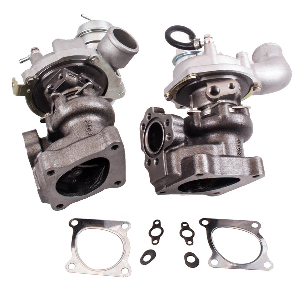 maXpeedingrods K04-025 K04-026 Twin Turbo Charger for Audi RS4 S4 A6 Allroad Quattro 2.7L Tubocharger 53049880025 53049880026