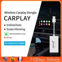 Carlinkit Drahtlose Apple Carplay Smart Link Apple CarPlay Dongle für Android Auto Radio Carplay Android Auto Airplay/Mirrorlink