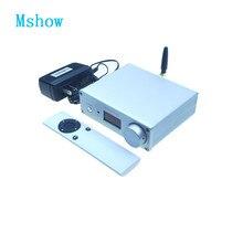 المزدوج AK4493 SU9 + بلوتوث 5.0 + Amanero USB DAC فك دعم DSD HIFI الرقمية إلى التناظرية محول صوت لمكبر للصوت