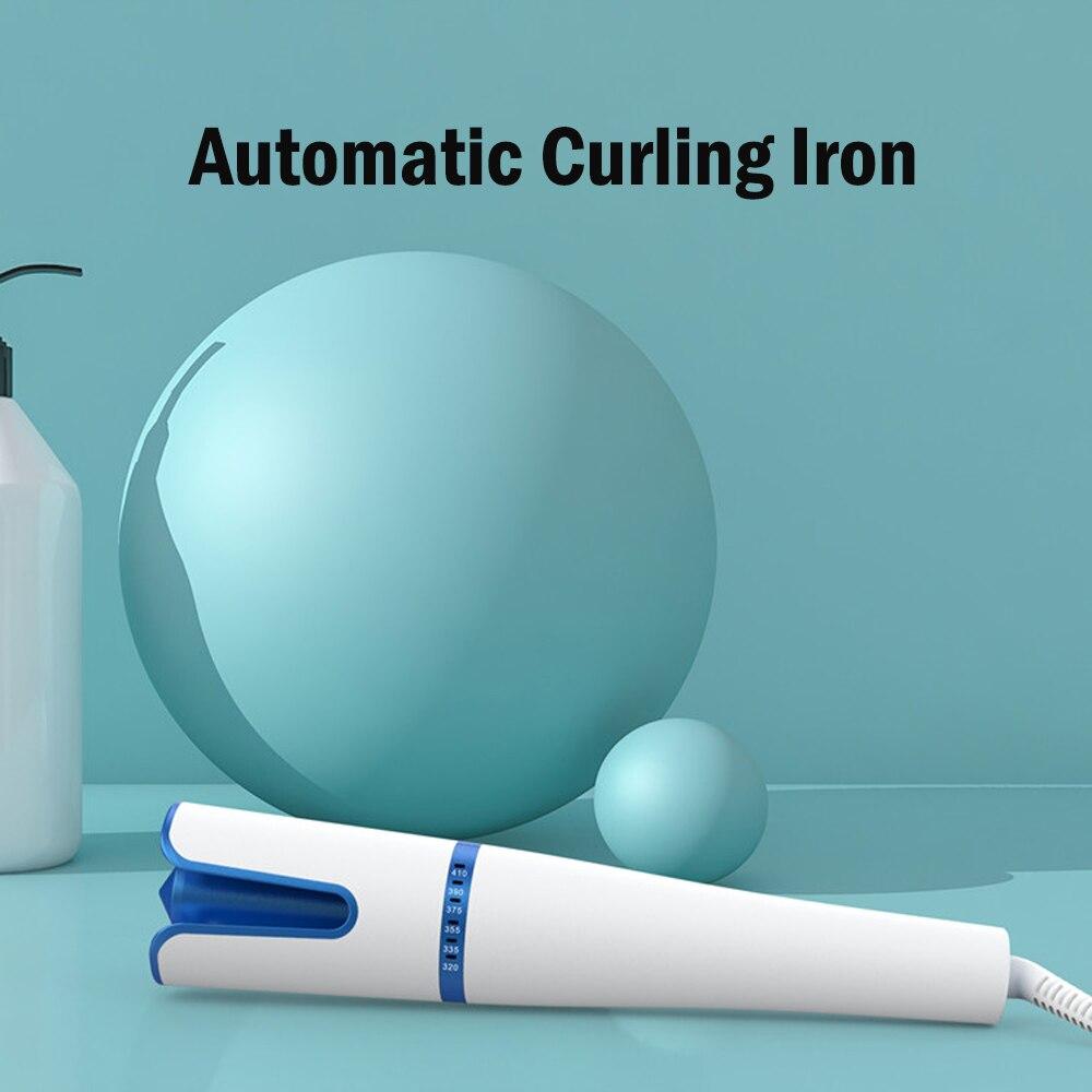 Novo rotativa curling ferro modelador de cabelo