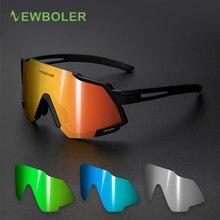 NEWBOLER 5 Lens Ultralight Sports Polarized Sunglasses Bike
