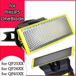 Cabezales de afeitar para onesblade Philips cuchillas reemplazables Pro QP2520 QP2523 QP2530 QP2630 QP6510 QP6520 reemplazo de cortador