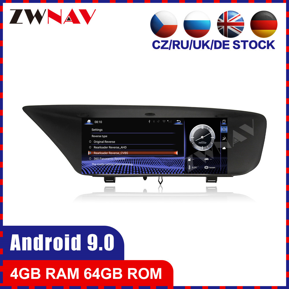 8 core Android 9 Car multimedia Player For <font><b>Lexus</b></font> <font><b>GS</b></font> <font><b>2012</b></font> 2013 2014 2015 2016 car GPS navi stereo radio tape recorder head unit image