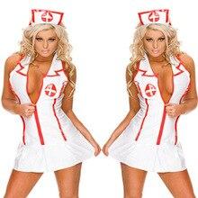 Porno Lingerie Hot Women Baby Doll Lenceria Sexi Erotic Lingerie Dress Cosplay Nurse Uniform Costumes Underwear Sex Clothes Role