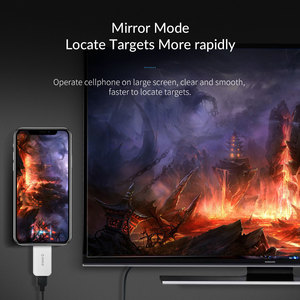 Image 4 - ORICO USB tipo C a HDMI compatible con convertidores de 4K a 30Hz/60Hz tipo C USB 3,1 adaptador conector Audio Video Extender para PC/teléfono/TV