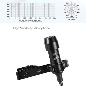 Image 3 - MEUYAG 3.5mm jack Mini Portable 1.5M Microphone Clip tie Collar Condenser audio Wired Mic For Computer Laptop For Mobile Phone