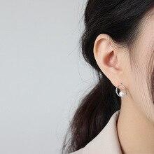 Женские серьги-кольца ассиметричные трендовые золотые серебряные шпильки 925 Серебряные женские ювелирные изделия подарок аксессуары серьги