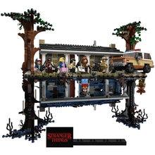 Novo 2499 pçs cidade 75810 coisas estranhas de cabeça para baixo blocos de construção tijolos conjunto crianças brinquedos presente natal