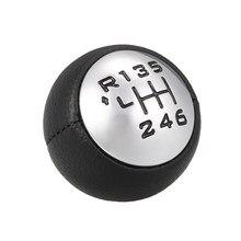 Auto perilla de caja de cambios de la palanca adaptador Manual 6-velocidad de transmisión para Peugeot 307, 308, 3008, 407, 5008, 807 Citroen C3 C4 C8