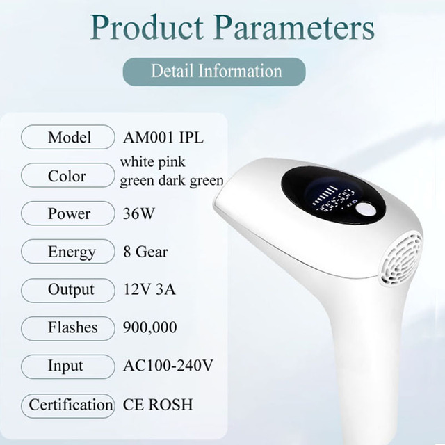 Laser Depilator for Hair Removal 2