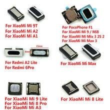 Новые Встроенные наушники-вкладыши, динамик для Xiaomi Mi PocoPhone F1 Mi 9 9T 8 Pro SE Max 2 3 Mix 2S A3 A1 A2 Lite