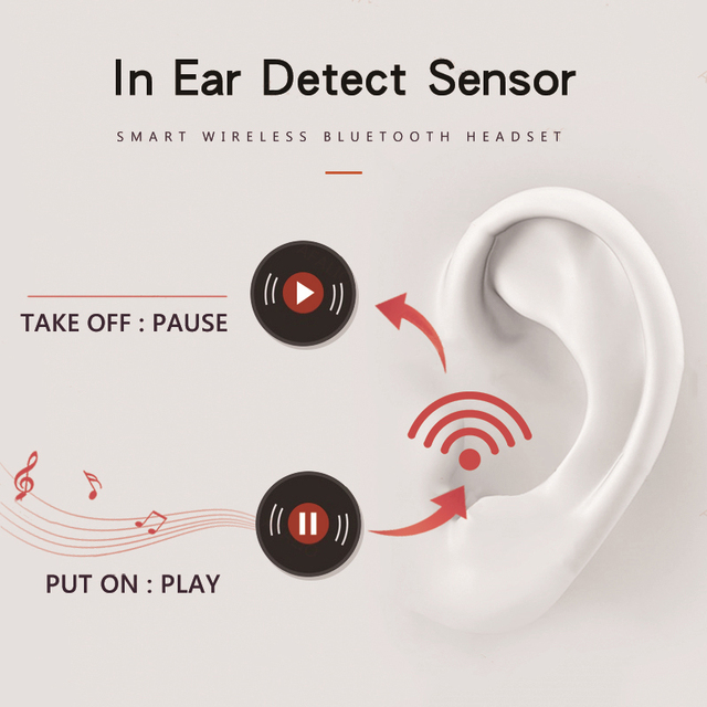 Airpodding pro Bluetooth Earphone Wireless Earbuds Noise Reduction Headphone with mic Sport Headset for Android IOS Smart Phone 1